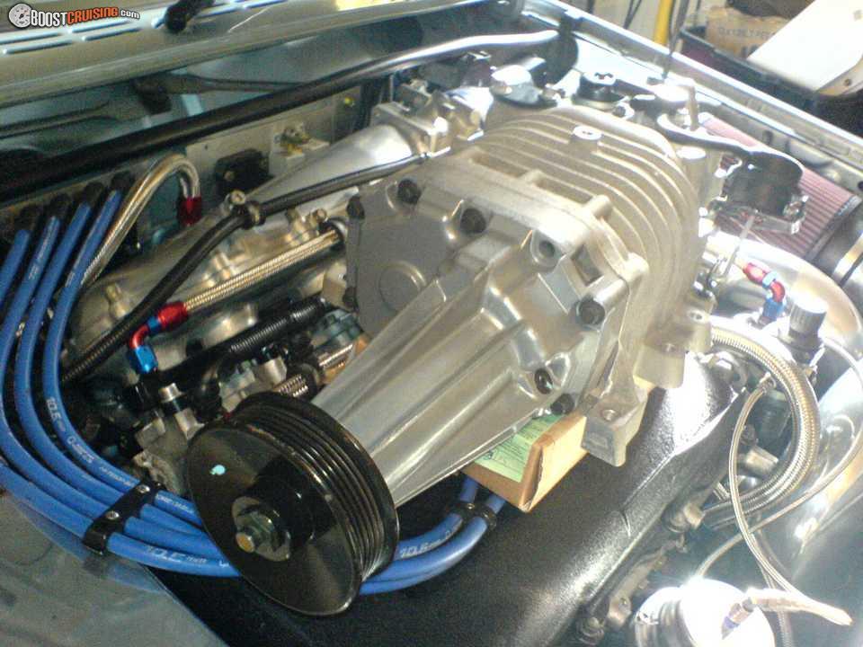 4 Cylinder Blower : Fs eaton m supercharger pics inside suit v